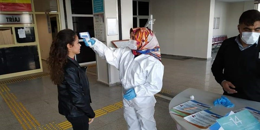 Şanlıurfa'da koronavirüs tedbirleri