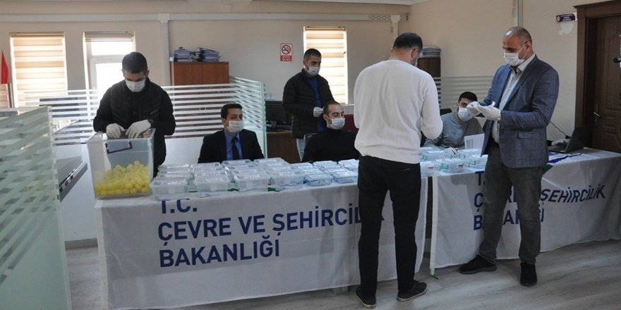 Şırnak'ta koronavirüs tedbirli kura çekimi