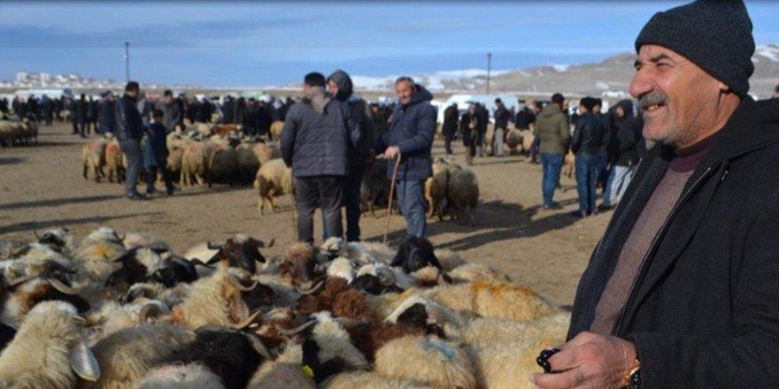 Van'da canlı hayvan pazarı kapatıldı