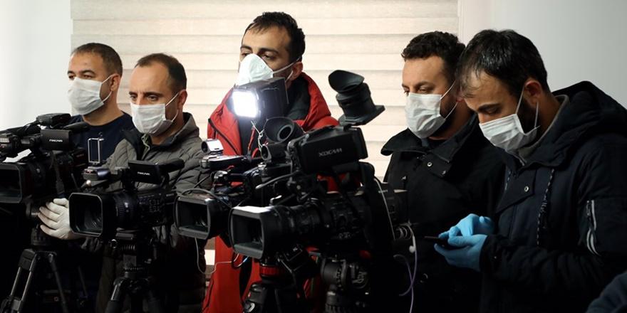 TGS: Gazetecileri salgından koruyun