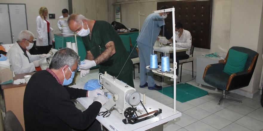 VİDEO - Bir hastane daha kendi maskesini üretmeye başladı
