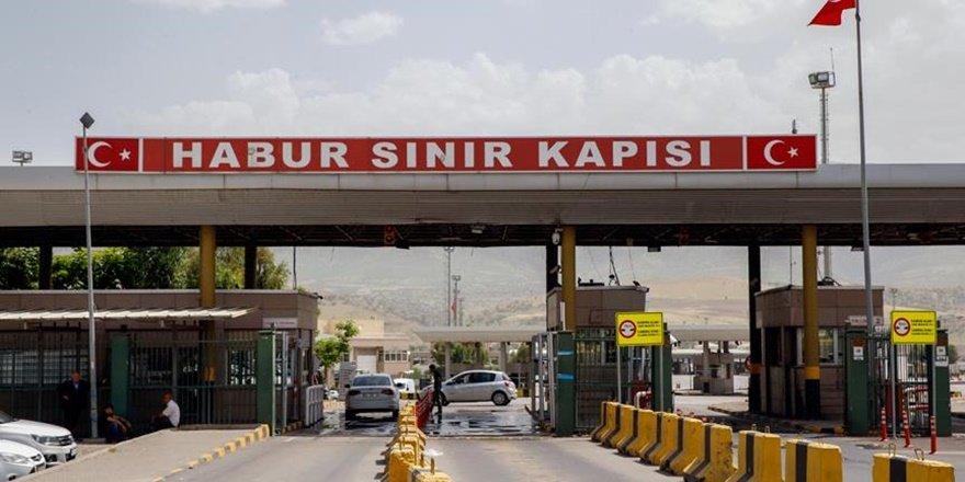 """Habur Sınır Kapısı'nda Irak ile """"temassız"""" ticaret"""