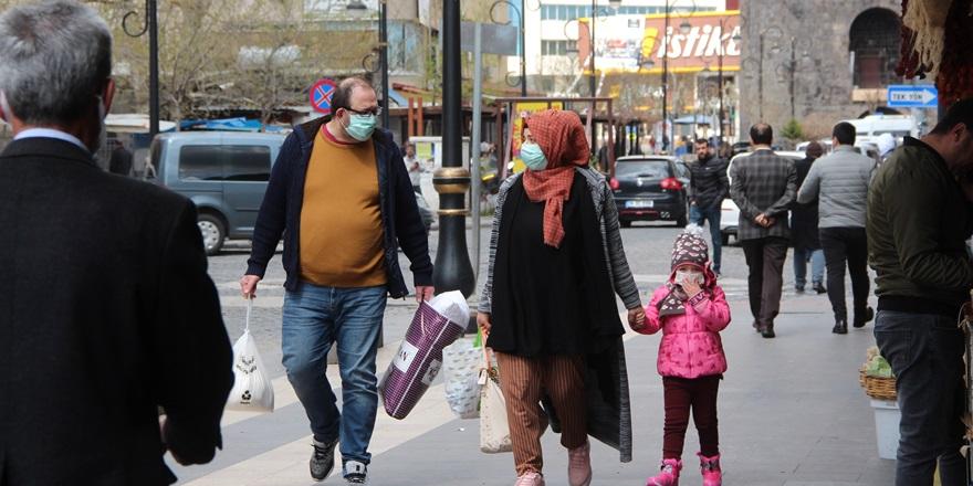 VİDEO - Diyarbakır'ın 'evde kal' çağrısına uyması havaya bağlı