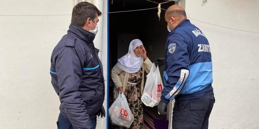 Bağlar Belediyesi'nden ihtiyaç sahibi vatandaşlara yardım