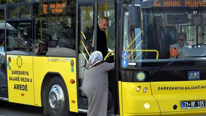 Diyarbakır'da ayakta yolcu taşımak yasaklandı