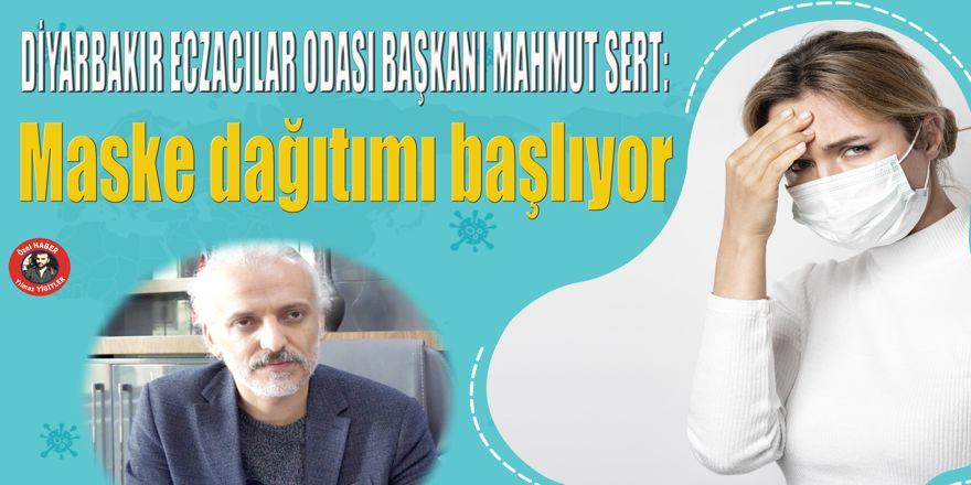 VİDEO - Diyarbakır'da maske dağıtımı başlıyor
