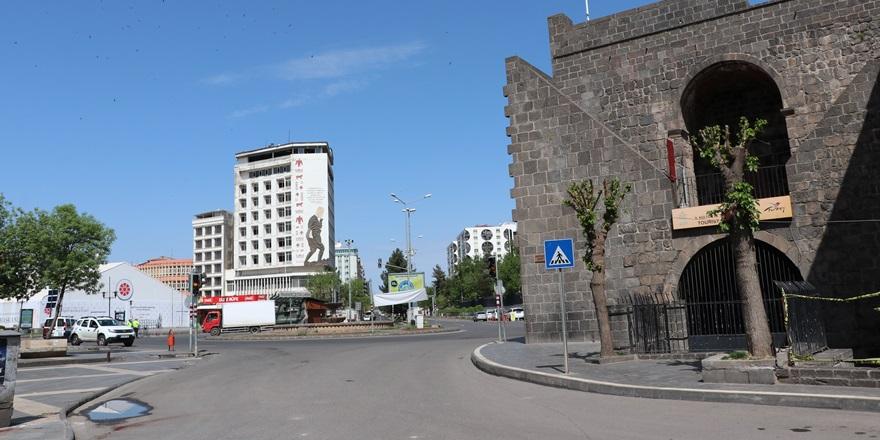 Diyarbakır kısıtlamanın ardından boş kaldı