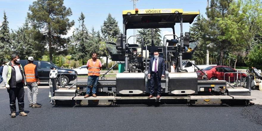 Bağlar'da asfalt çalışmaları sürüyor