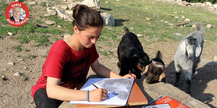 Sıradışı bir sanat ve çoban kızın başarı öyküsü