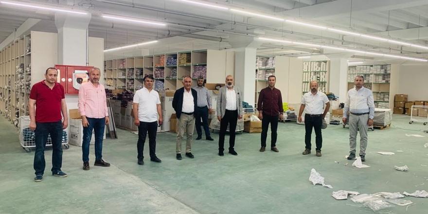 Tekstil sektörü OSB'de üretim yapmaya hazır