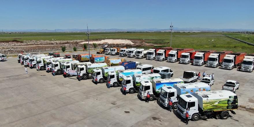 Büyükşehir Belediyesi temizlik araç filosunu arttırdı