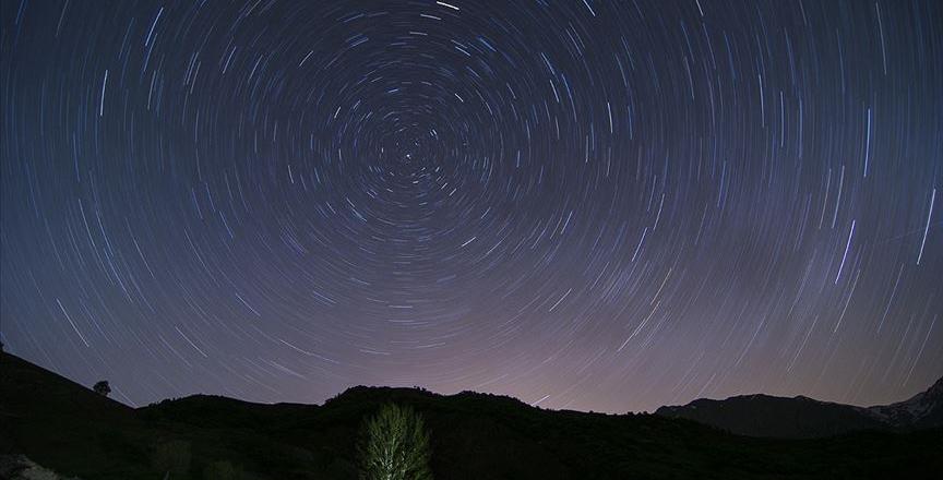 Tunceli'de yıldızların görsel şöleni