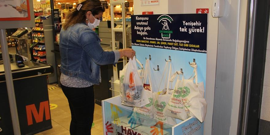 Diyarbakır'da askıda gıda kampanyası