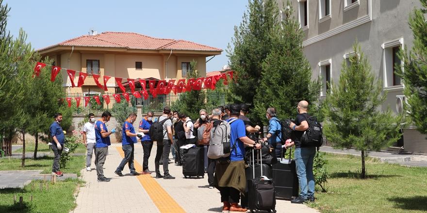 Diyarbakır'dan evlerine uğurlanan vatandaş sayısı 585'e ulaştı