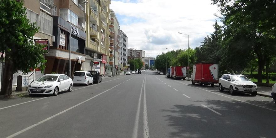 Diyarbakır'da kısıtlamanın 3'üncü gününde de sessizlik hakim