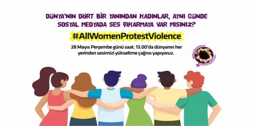 Kadınlar tüm dünyada şiddete karşı bir oluyor
