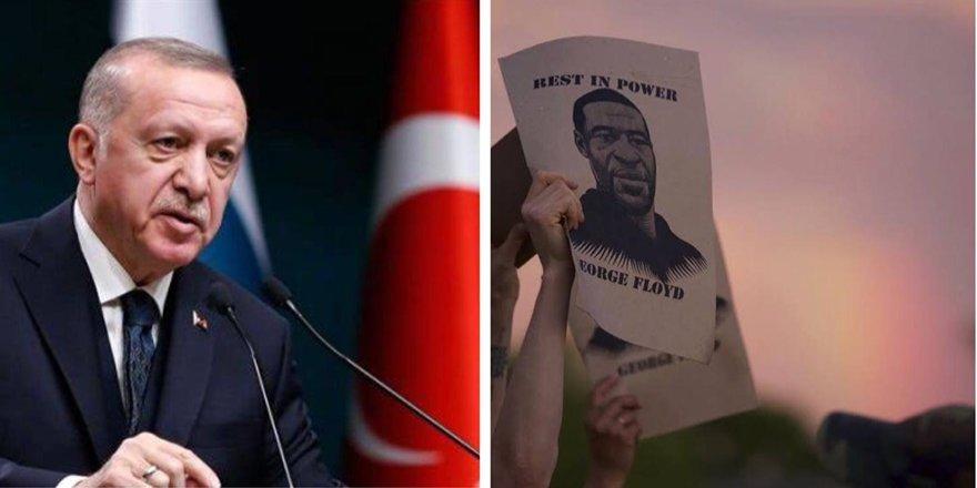 Erdoğan, George Floyd'un öldürülmesini kınadı
