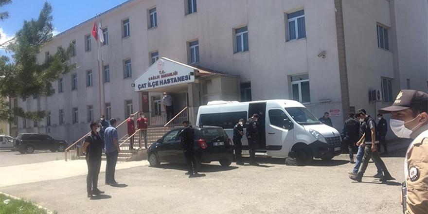 Erzurum'da iki aile arasında kız kaçırma kavgası