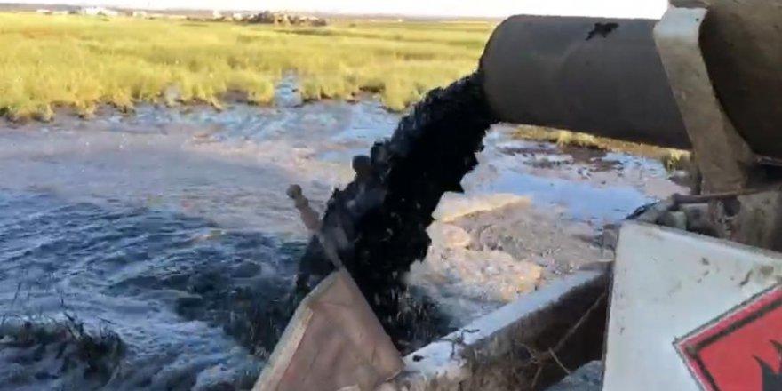 Diyarbakır'da tarım arazisine kimyasal atık dökenlere suçüstü