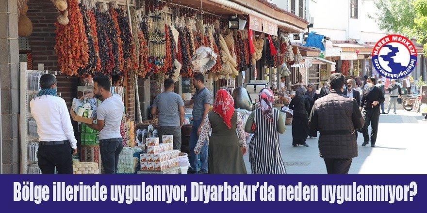 Bölge illerinde uygulanıyor, Diyarbakır'da neden uygulanmıyor?