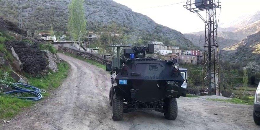 Siirt'te bir belde ve köy de korona karantinası