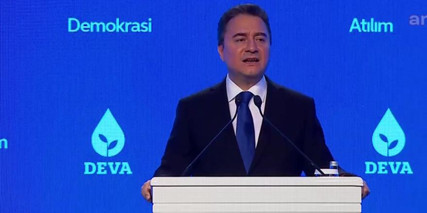 DEVA Partisi: Yaşanan ekonomik sorunun sebebi kötü yönetim