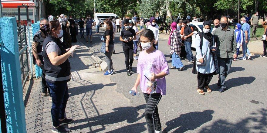 Diyarbakır'da LGS heyecanı