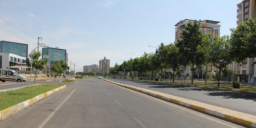 Diyarbakırlılar LGS için uygulanan sokağa çıkma kısıtlamasına uydu
