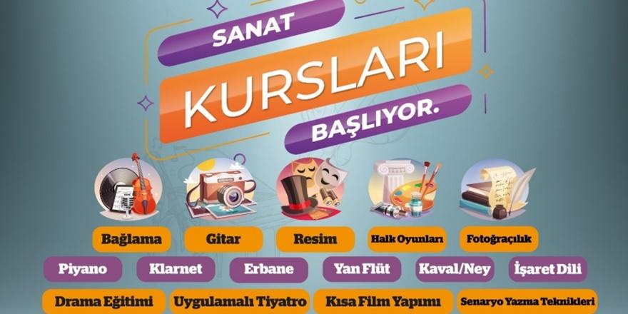 Diyarbakır'da 17 dalda kültür sanat kursu açılıyor
