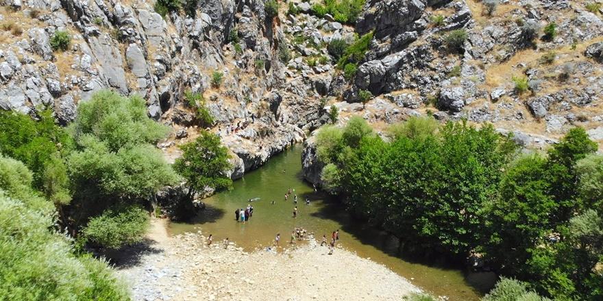 Diyarbakır'ın tatil noktası: Birkleyn Mağaraları