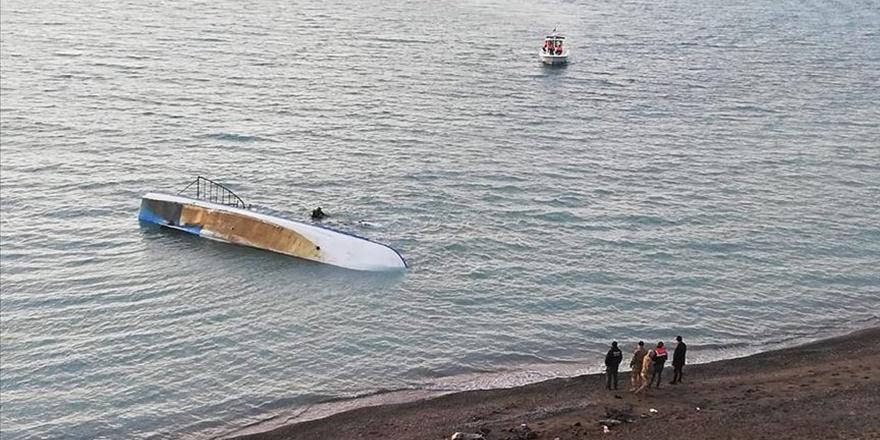 Van Gölü'nde göçmen faciası: 6 ölü