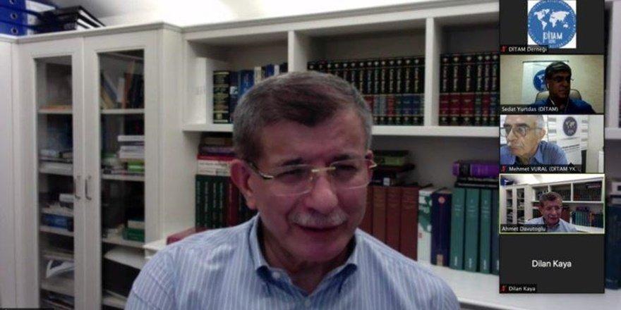 Davutoğlu: AK Parti ile aramızda radikal bir ayrım var