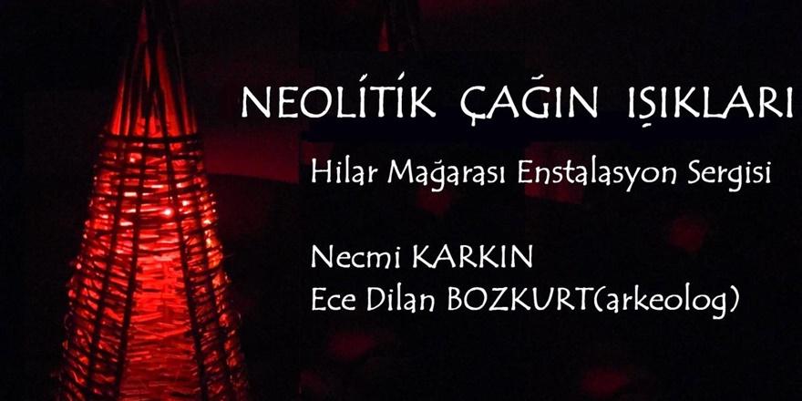 Ergani Hilar Mağarası'nda enstalasyon sergisi