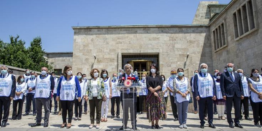 Sancar: Edirne ve Hakkari'den Ankara'ya yürüyeceğiz