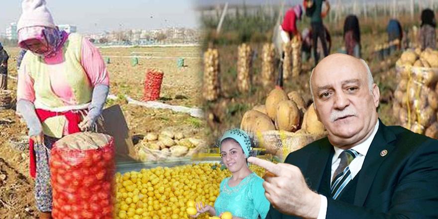 Bayraktar: Çiftçilerimiz üretimden kopma noktasına gelmiştir