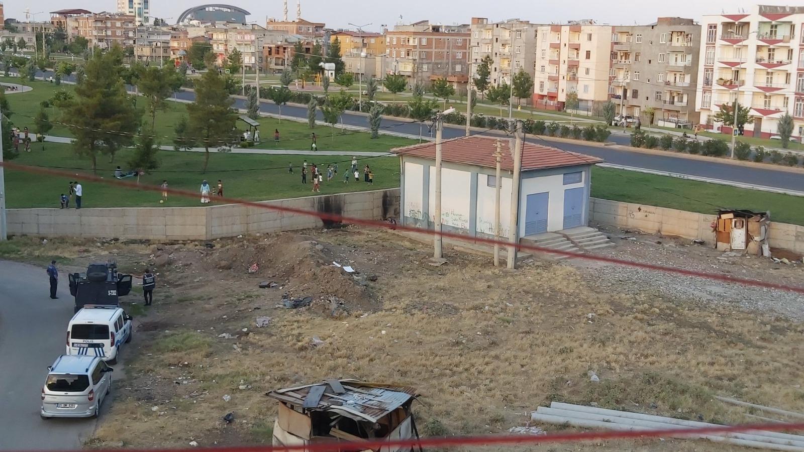 Diyarbakır'da uyuşturucu kullanan genç parkta bayıldı