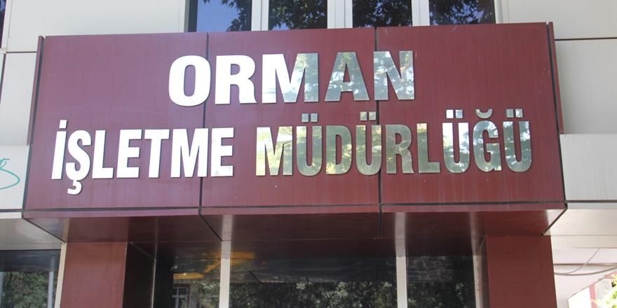 Diyarbakır Orman İşletme Müdürlüğünden ilan duyurusu