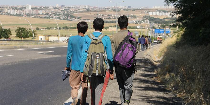 Göçmenler kaçak yollarla Diyarbakır'a geliyor, yetkililer izliyor!