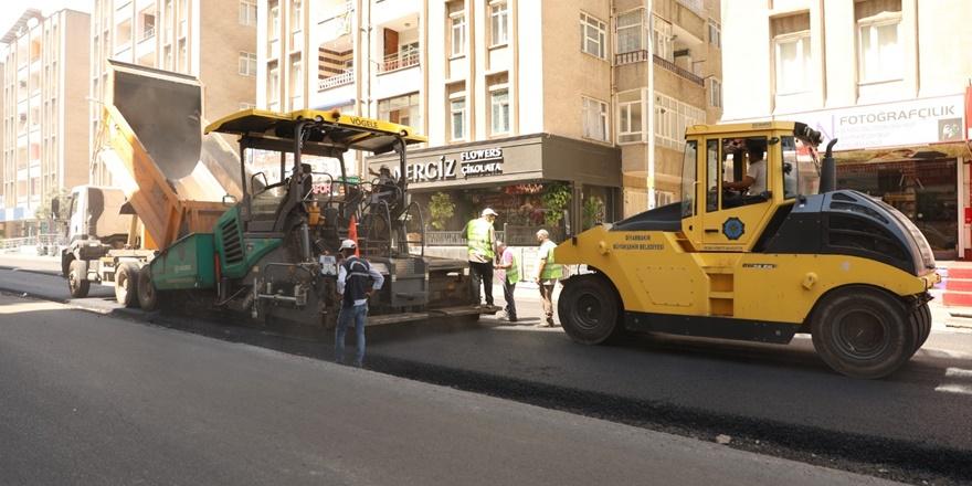 Doç. Dr. Ahmet Bilgin Bulvarı'nda yenileme çalışmaları başlatıldı