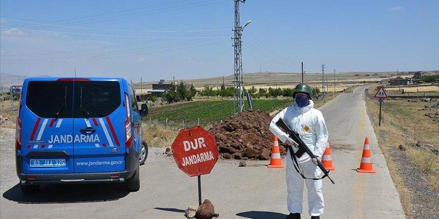 Diyarbakır'da bir mezra karantinaya alındı