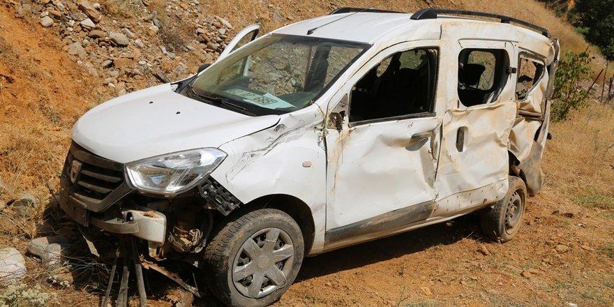 Tunceli'de iki ayrı kazada 2'si ağır 8 yaralı