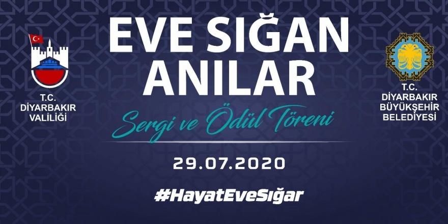 Diyarbakır'da 'Hayat Eve Sığar' temalı sergi ve ödül töreni düzenleniyor