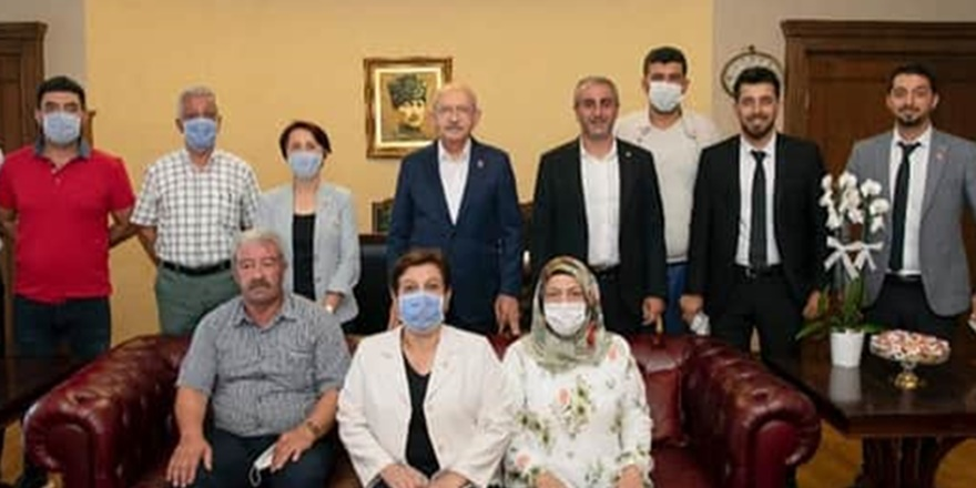 CHP Diyarbakır İl Örgütü'nden Kılıçdaroğlu'na ziyaret