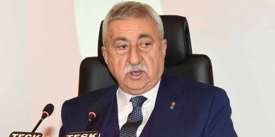 TESK Başkanı Palandöken: Temennimiz bu haksız verginin tamamen kaldırılması