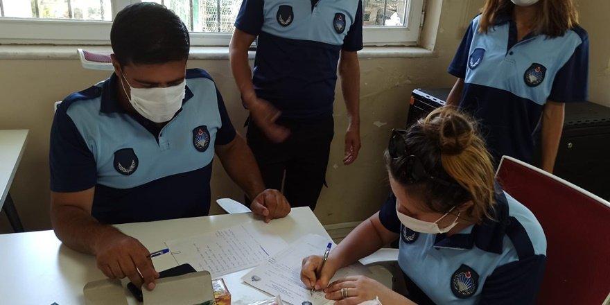 Diyarbakır'da zabıta ekiplerinden patlayıcı madde denetimi