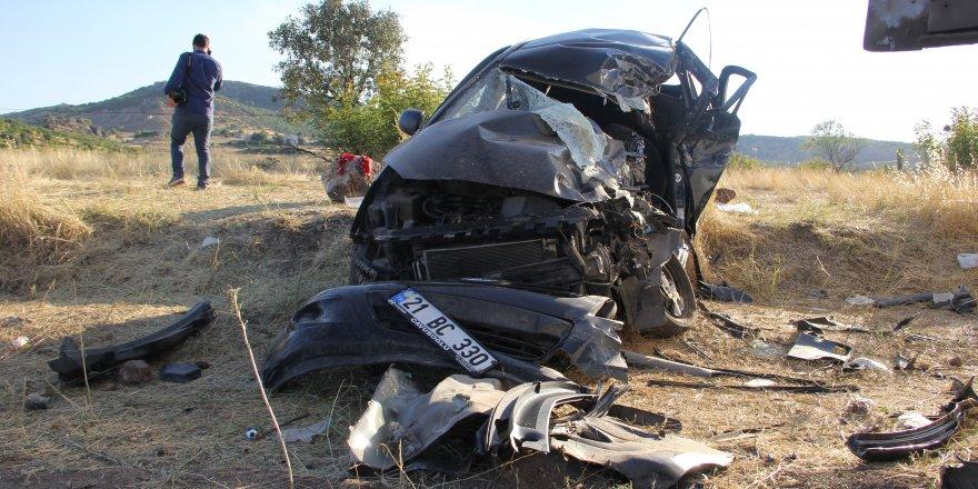 Diyarbakır'da bayram dönüşü kaza: 1 ölü, 5 yaralı