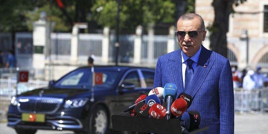 Erdoğan: Türkiye tırmanışta, bunu gözü olup görmeyenler var