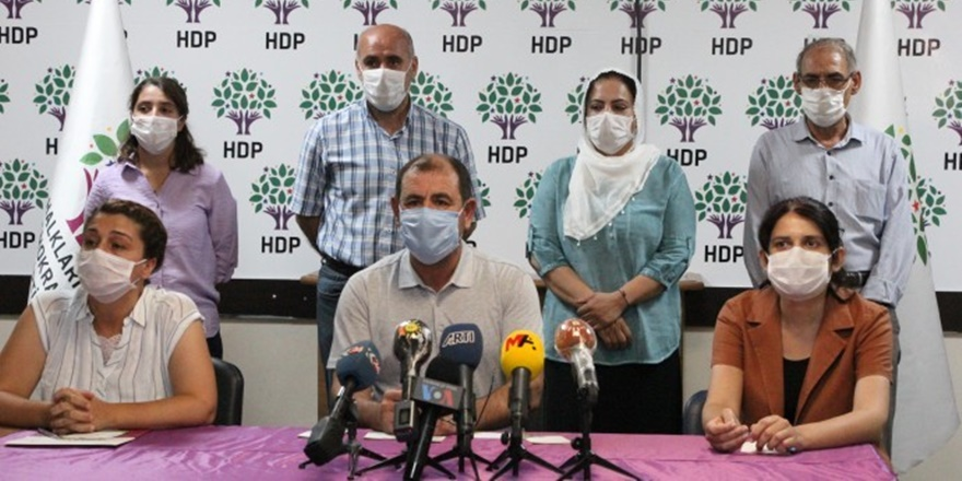 HDP'den korona uyarısı: Kendi tedbirinizi kendiniz alın