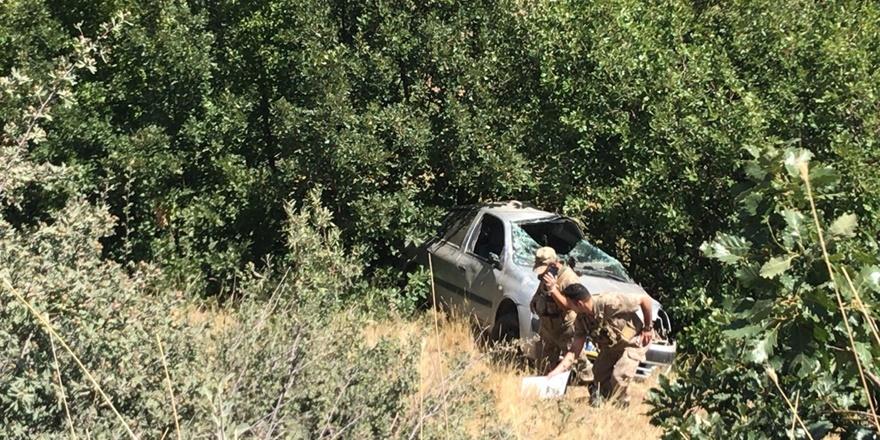 Tunceli'de otomobil uçuruma yuvarlandı: 1 ölü, 1 yaralı
