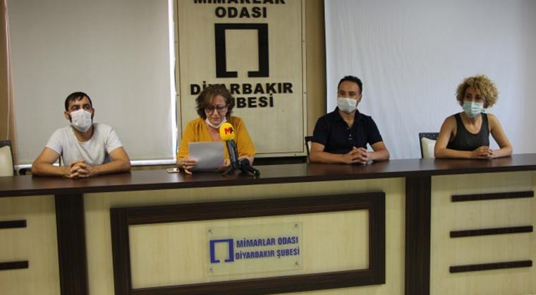 'Diyarbakır'daki mimar ve mühendisler işsiz'